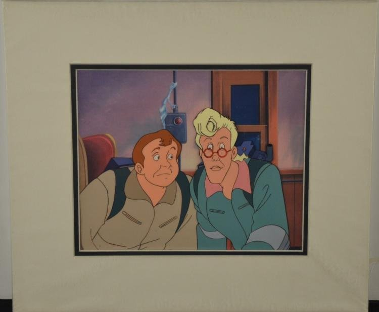 Ghostbusters Orig Animation Production Cel Ray, Egon