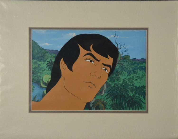Tarzan Original Animation Production Cel Close-Up