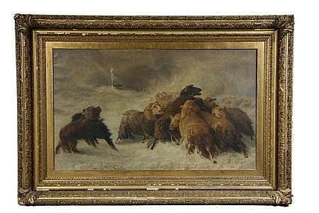 Oil on Canvas -Lost: Souvenir of Auvergne