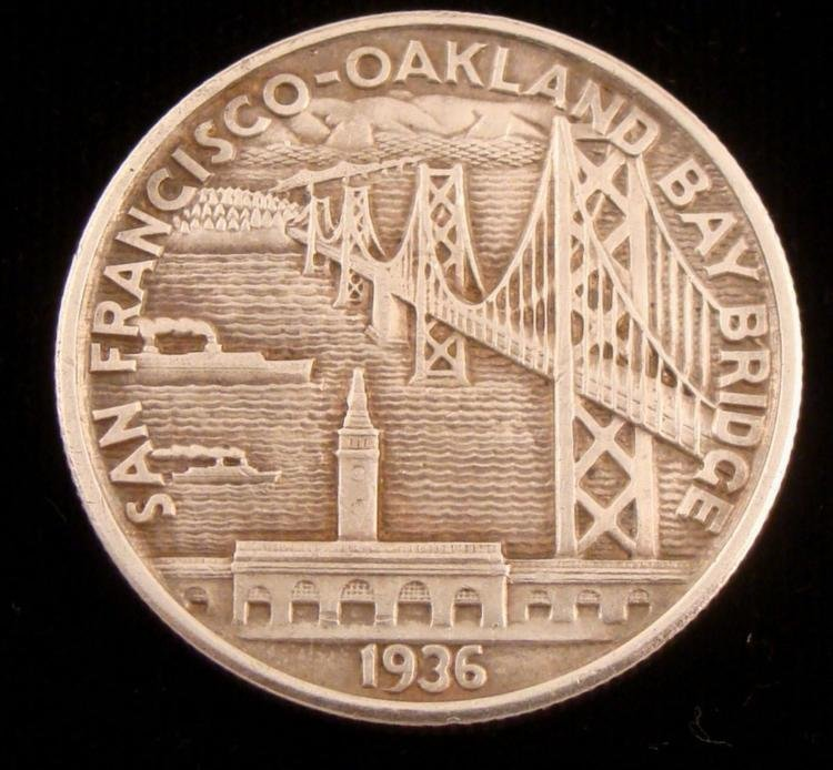 San Francisco Oakland Commemorative Half Dollar 1936