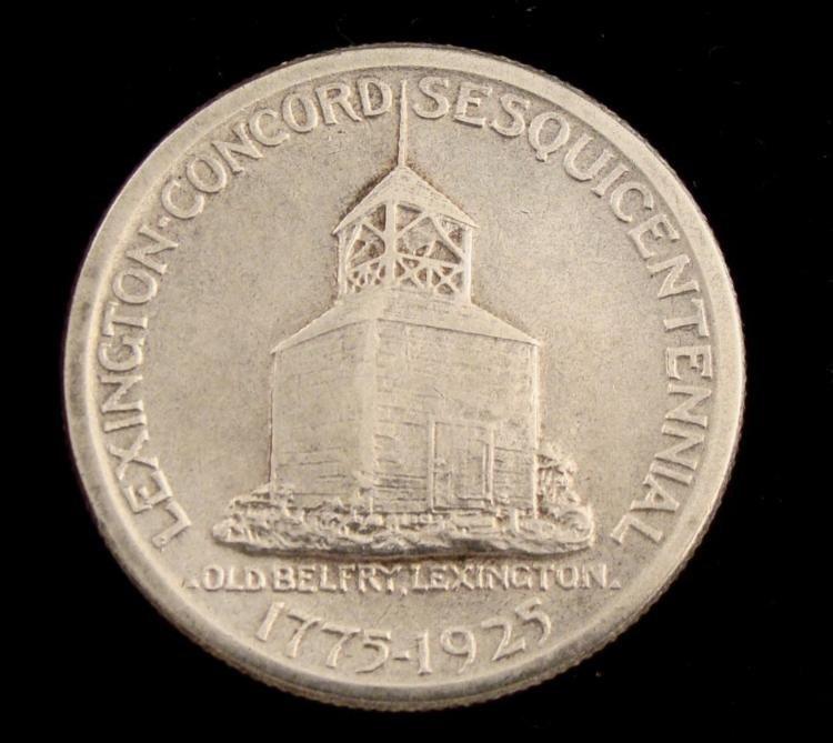 1926 Lexington Concord Commem Silver Half Dollar