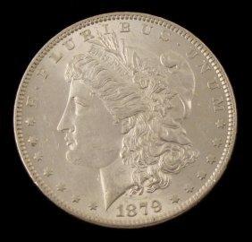 UNC 1879 Morgan Silver Dollar