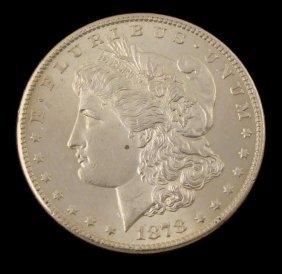 1878-S Morgan Silver Dollar -Very High Grade