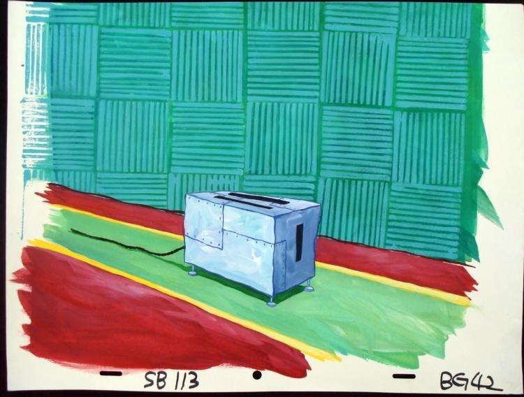 SpongeBob Original Production Background Toaster