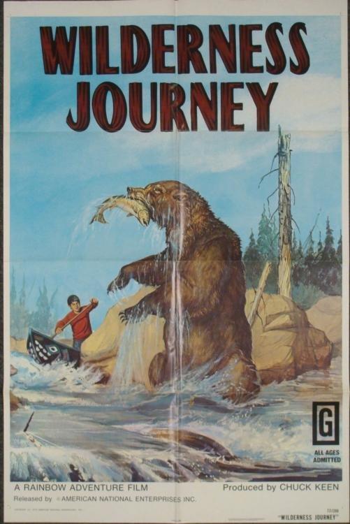 Wilderness Journey Original 1 Sheet Movie Poster 1972