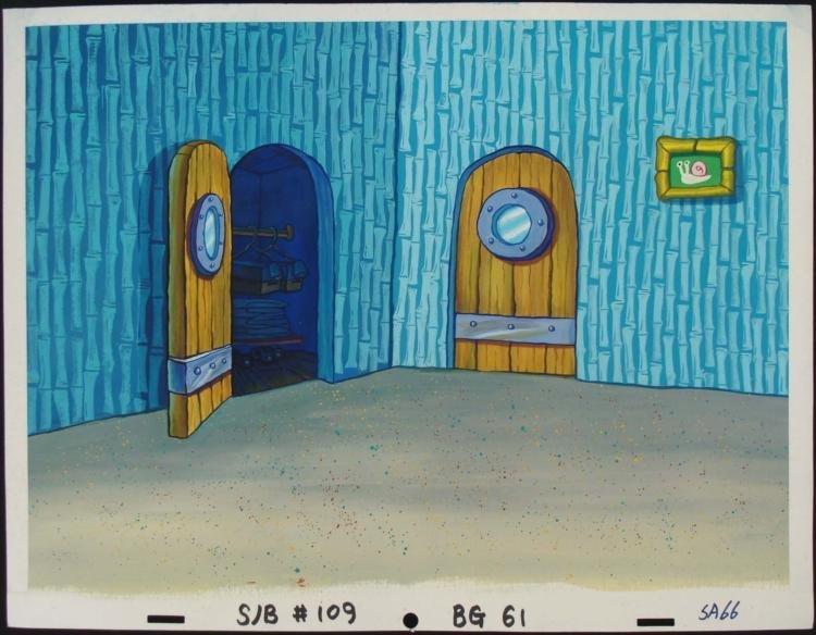 Original Animation Same Wardrobe Background Spongebob