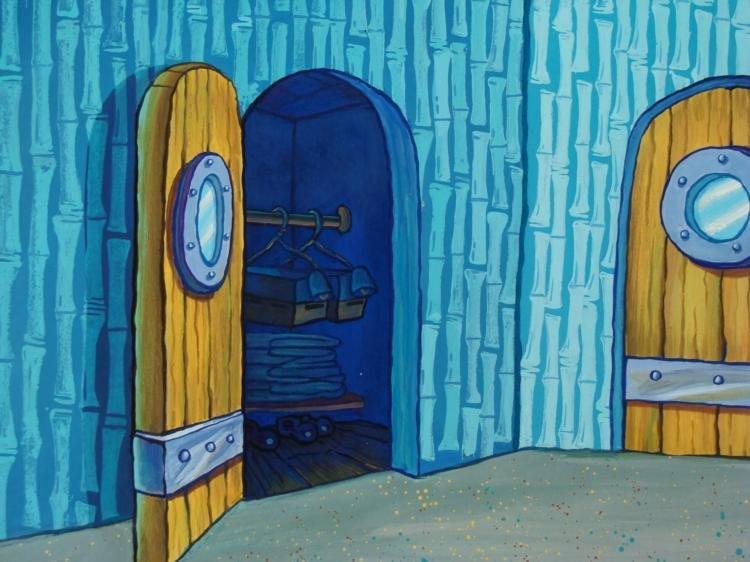 Original Animation Same Wardrobe Background Spongebob - 2