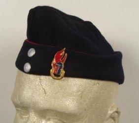 West German Post War Cap W/ Fightfighter Emblem