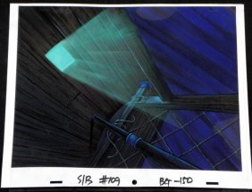 Orig SpongeBob 2 Layer Production Background Ship Hatch