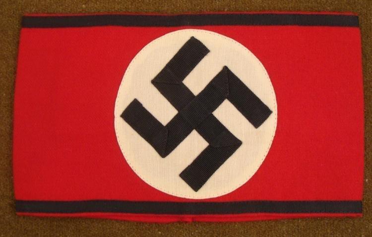 SS Repro Nazi Arm Band w/ Swastika