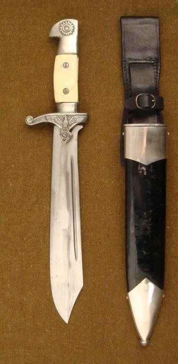 Nazi Repro Eichhorn Teno Subordinates Dagger, Scabbard