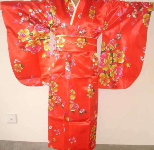 Chinese Silk Womens Kimono Robe mwf2147