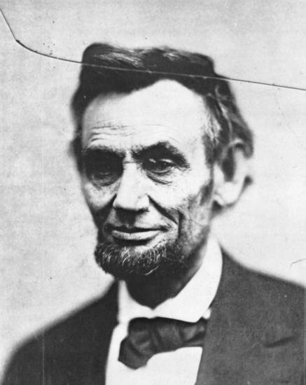 Abraham Lincoln head-and-shoulders portrait