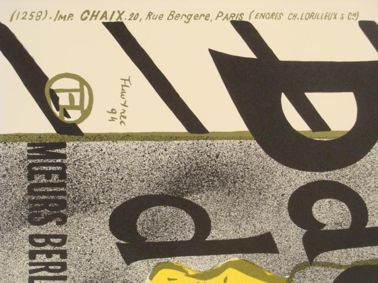 Henri de Toulouse-Lautrec : Babylone d'Allemagne Print - 3