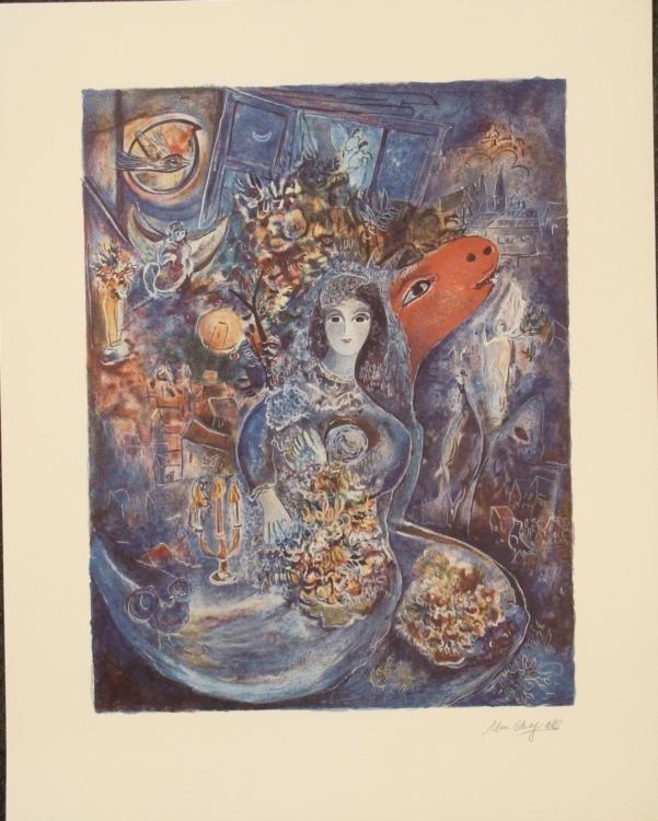 Marc Chagall : Bella Art Print Ed. 2000
