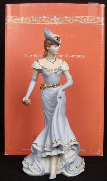 Welsh Porcelain Company Theresa Elegant Lady Figurine