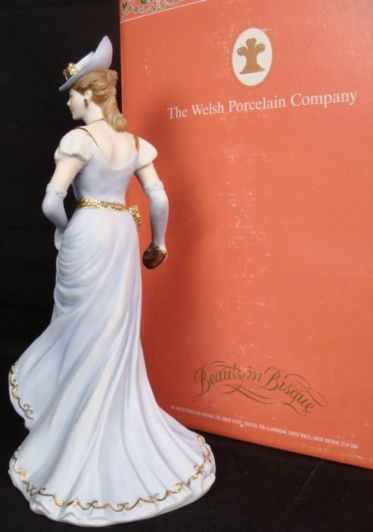 Welsh Porcelain Company Theresa Elegant Lady Figurine - 2