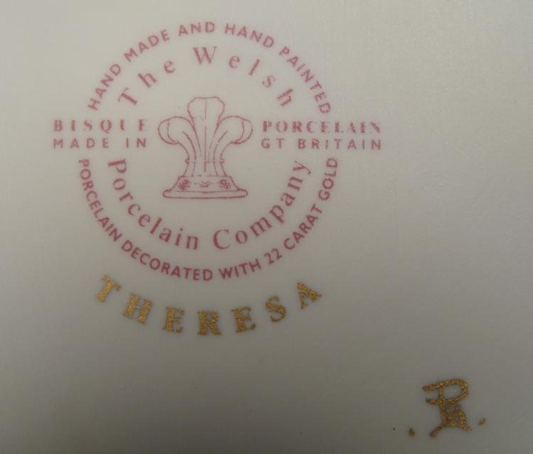 Welsh Porcelain Company Theresa Elegant Lady Figurine - 4