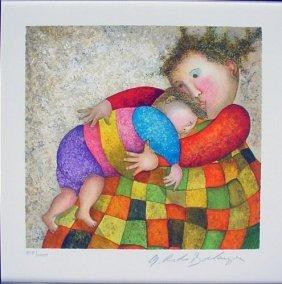 AMOUR TENDRESSE LE Art Print Boulanger Mother + Child