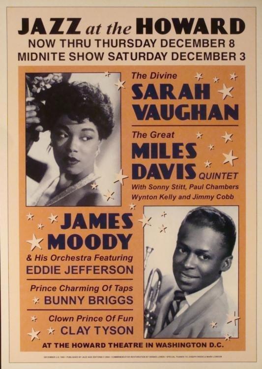 4 Jazz Concert Repro Posters Gillespie Goodman Vaughan - 5