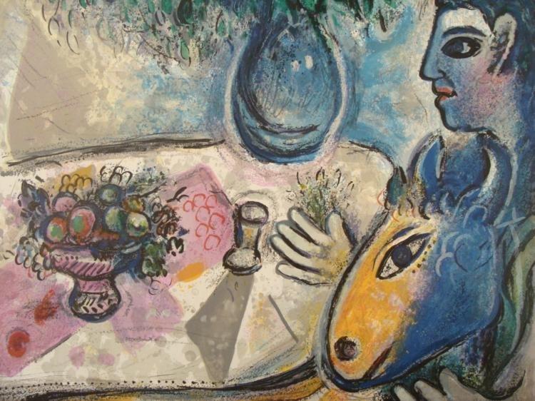 Marc Chagall: Reverie Art Print Ed. 2000 - 2