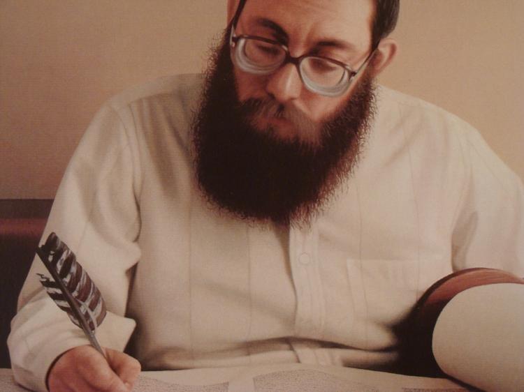 Max Ferguson : Torah Scribe Judaic Art Print - 2