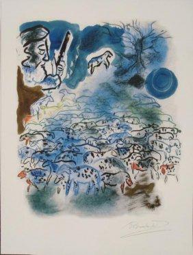 Shoshanna Brombacher : Jacob Tends The Flocks Art Print