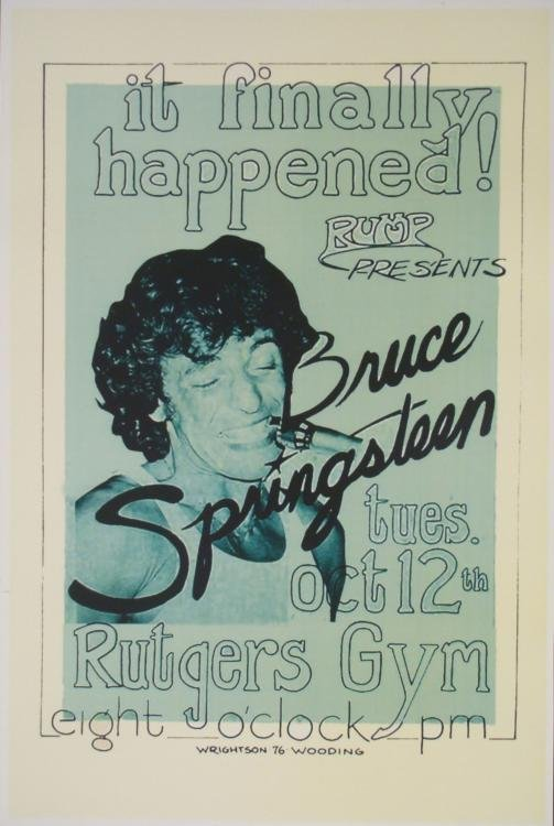 5 Bruce Springsteen 12x18 Repro Concert & Album Posters - 2