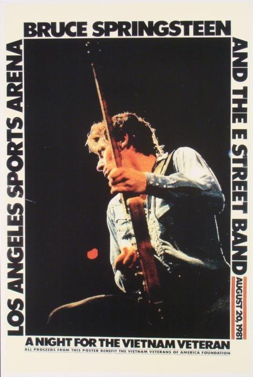 5 Bruce Springsteen 12x18 Repro Concert & Album Posters - 5