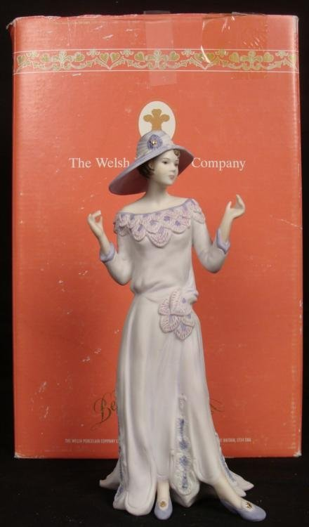Welsh Porcelain Company Sally 1920 Flapper Girl Figure