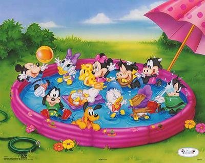 4 Disney Prints: Babies, Mickey Mouse & Friends - 2