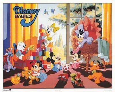 4 Disney Prints: Babies, Mickey Mouse & Friends - 3