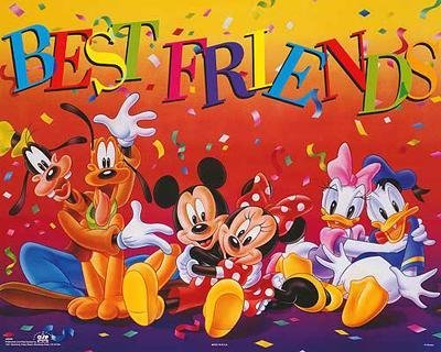 4 Disney Prints: Babies, Mickey Mouse & Friends - 4
