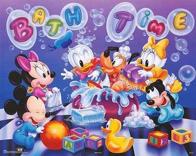 4 Disney Prints: Babies, Mickey Mouse & Friends - 5