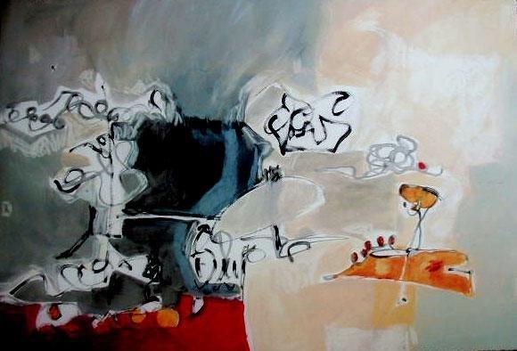 Cecilia Garcia Amaro Signed Print Homenaje a Calder