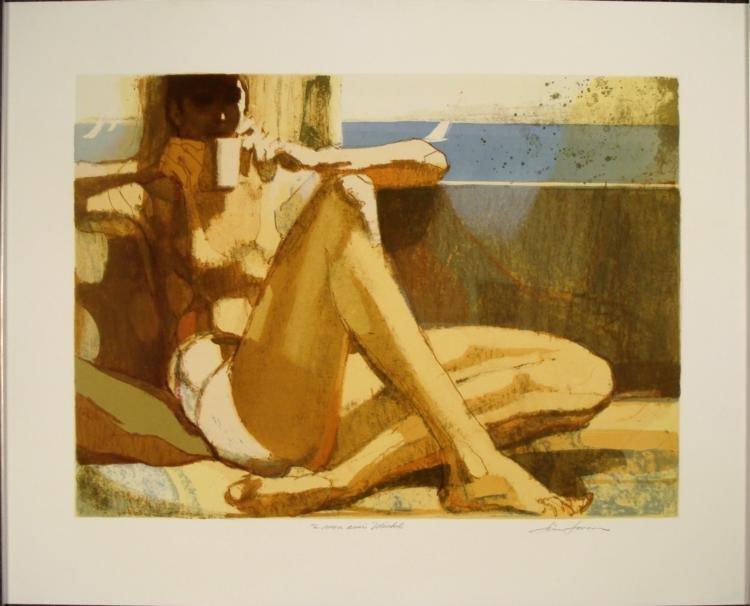 Jim Jenson To My Good Friend Signed Art Print