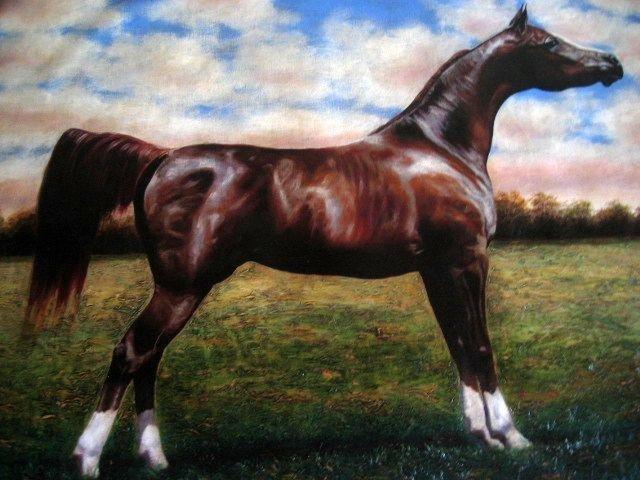 Pedro Tapia Original Painting Horse 5