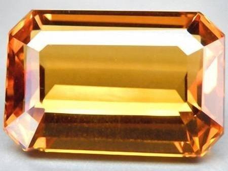 ABSOLUTELY STUNNING 12.40 CT GOLDEN ORANGE CITRINE