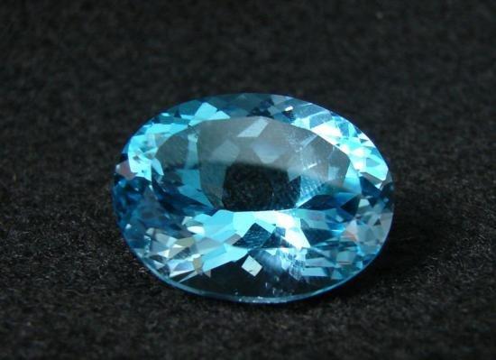 RPEX86 Flawless Natural Swiss Blue Topaz Gemstone 40.37