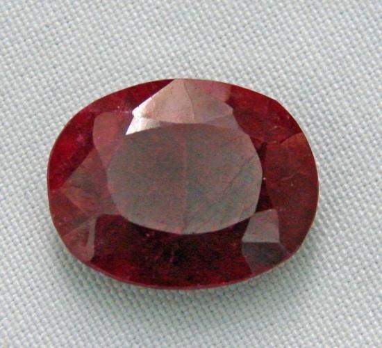 25.15 Ct Natural Red Ruby Gemstone RPEX72