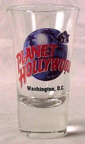 Planet Hollywood WASHINGTON DC Shot Glass Case/144 MIB - 2