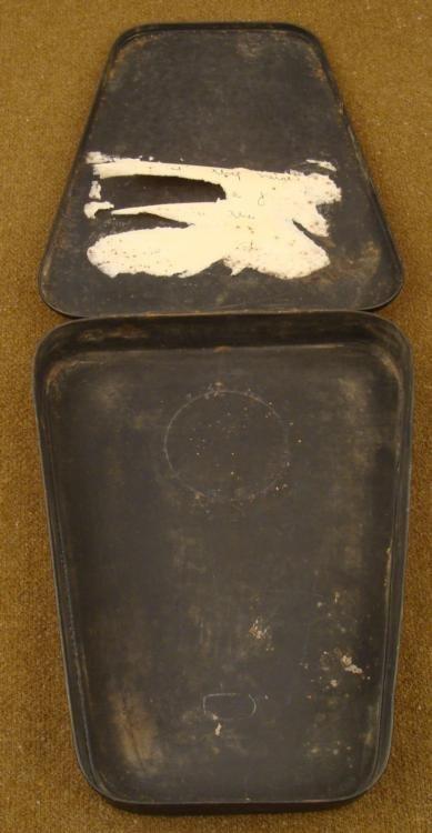 WWII JAPANESE COMBAT FIELD INSTRUMENT METAL CASE, KANJI - 4