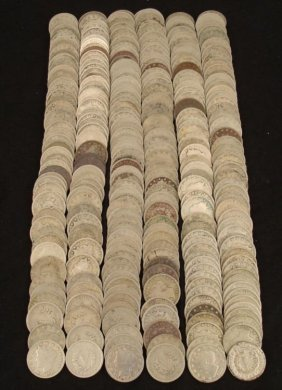 285 Low Grade Liberty V Nickels Most Fl Dates 1889-1910