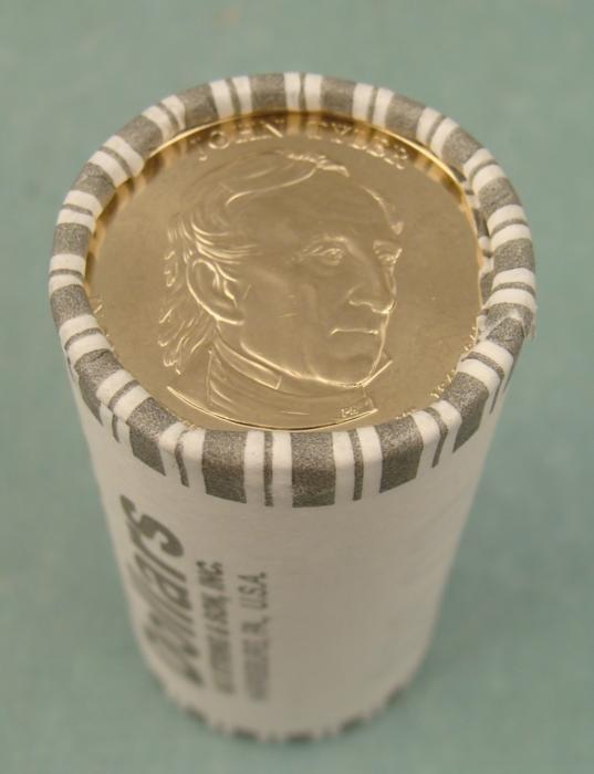 1 Roll 2009-D Tyler Presidential Dollars 25 Coins