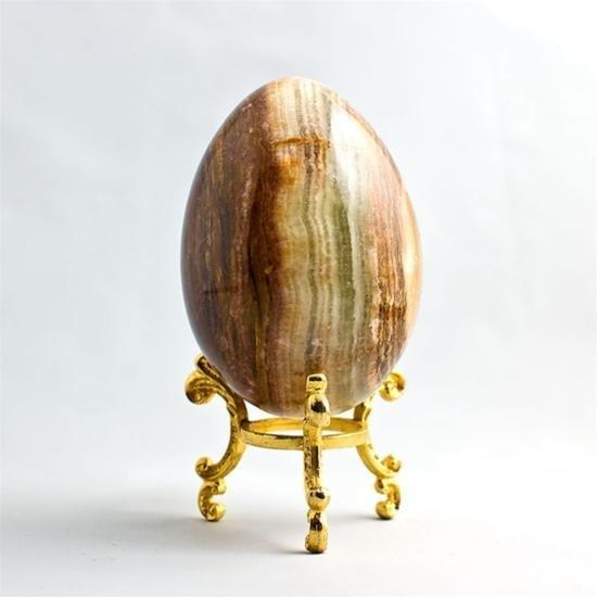 Bandded Onyx Stone Egg