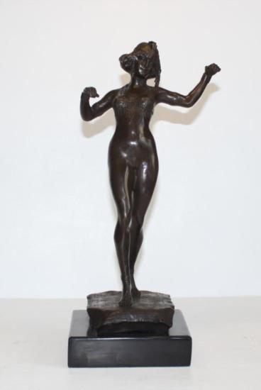 Fine Belly Dancer Bronze Sculpture