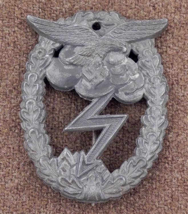 WWII Repro Nazi Luftwaffe Ground Assault Badge
