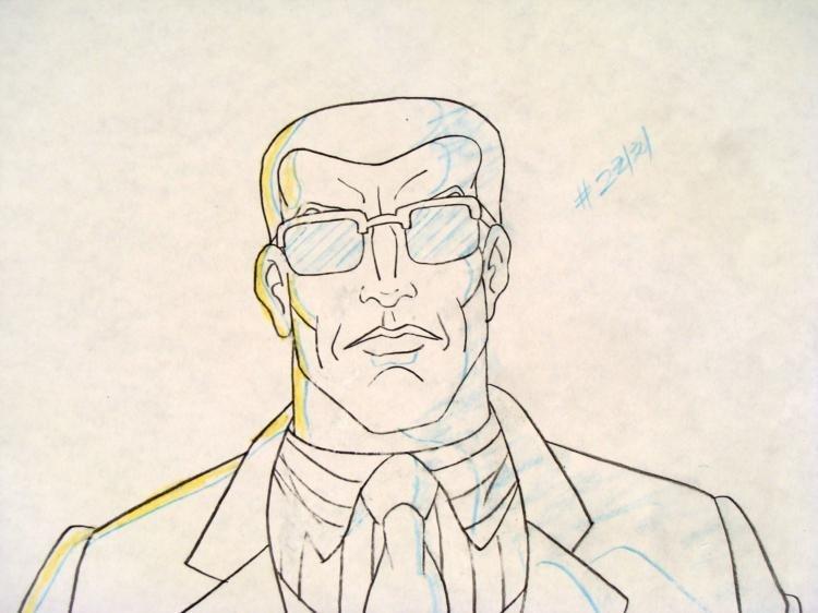 Original Production Drawing Colossus X-MEN Move It - 2