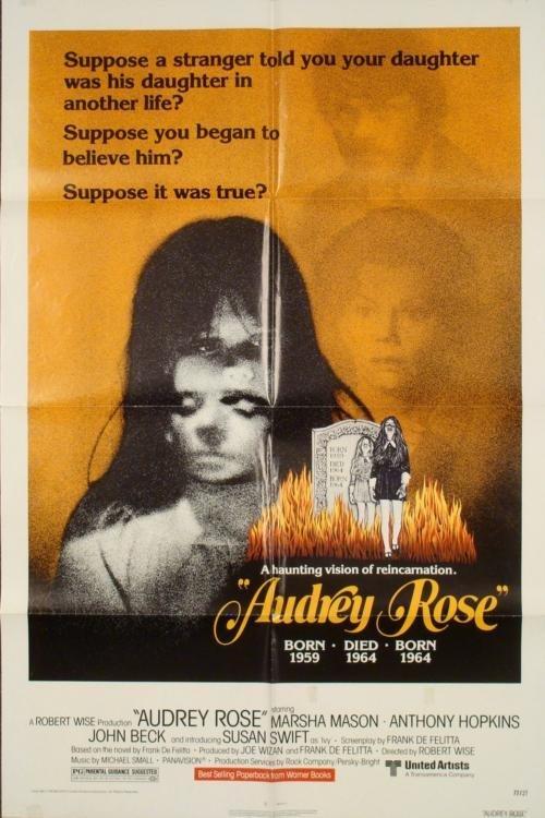 Audrey Rose Original 1 Sh Horror Movie Poster 1977