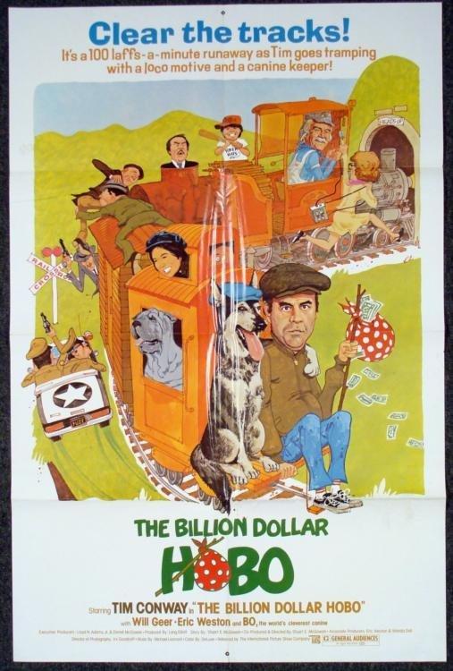 Billion Dollar Hobo Orig 1 Sh Movie Poster Tim Conway